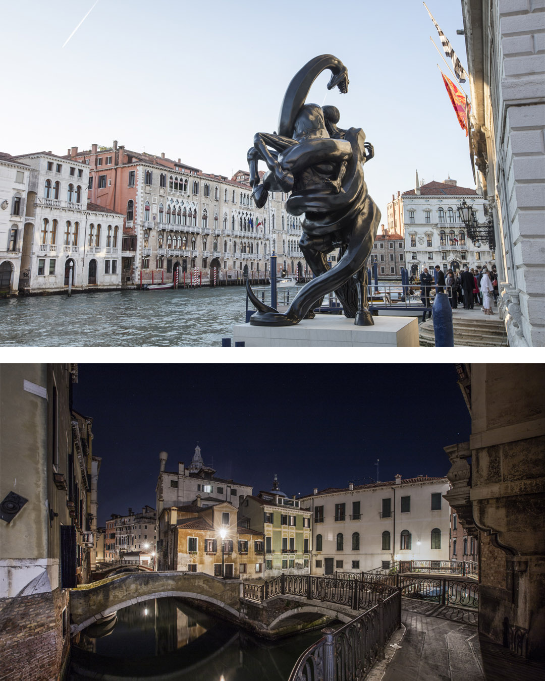 Damien Hirst's private view at the Palazzo Grassi